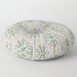 Wild plant pattern 1e Floor Pillow