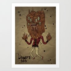 the Werewolf Art Print