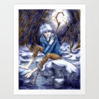 jack frost Art Prints featuring Jack Frost by MissKerrieJ