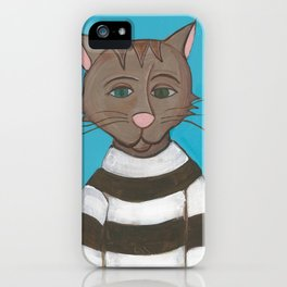 Coffee House Cat iPhone Case