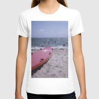 cape cod T-shirts featuring Cape Cod Beach by IanPlath