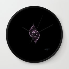 Fractal Double-Shell Wall Clock