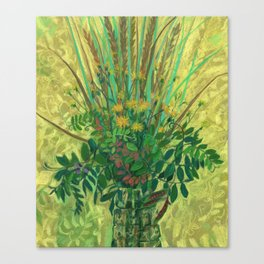 Bouquet from the Finnish Bay Canvas Print