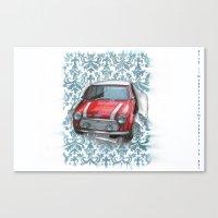mini Canvas Prints featuring Mini by Magdalena Almero