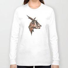 Salivating Goat Long Sleeve T-shirt