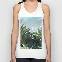 palm Tank Tops featuring Palm by Danny T