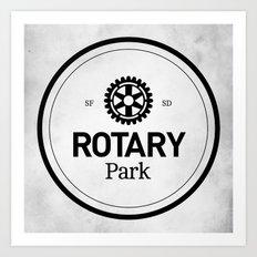 Rotary Park Art Print