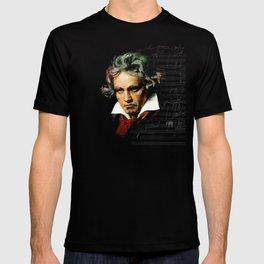 Beethoven - Music Demon T-shirt