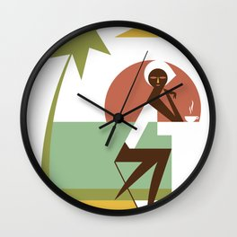 Brasero Wall Clock