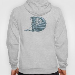 Dragon Letter D, from Dracoserific, a font full of Dragons. Hoody