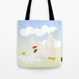 The Wonderful Adventures of Nils  Tote Bag