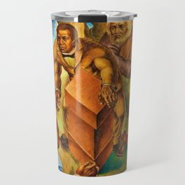 African American Masterpiece 1939 Five Great American Negroes by Charles White Travel Mug