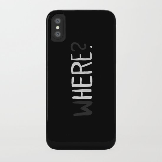 Here. iPhone Case