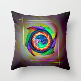 Abstract in perfection 121 Throw Pillow