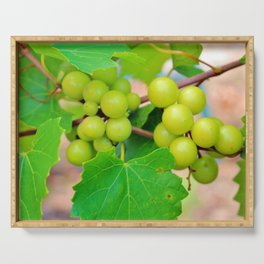 Grapes Serving Tray