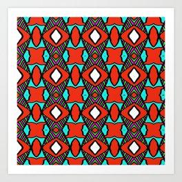 colorpattern Art Print