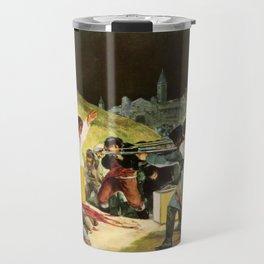 The Third Of May 1808 By Francisco Goya Travel Mug