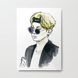 Fashionista Key. Metal Print