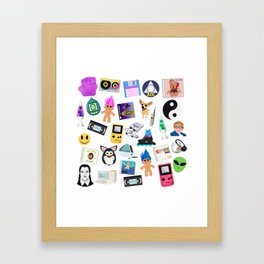 Only 90's Kids Will Understand Framed Art Print