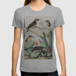 Woodpeckers And Cacti T-shirt