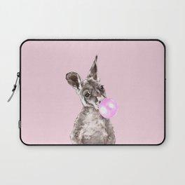 Bubble Gum Baby Kangaroo Laptop Sleeve