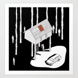 Hereditary by Ari Aster and A24 Studios Art Print