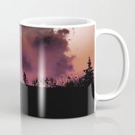 Bike and scary cloud Coffee Mug