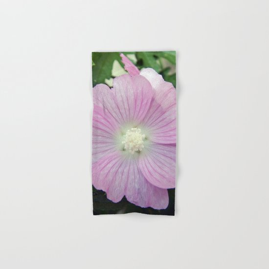Pink Musk Mallow Hand & Bath Towel