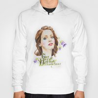 ultraviolence Hoodies featuring Ultraviolence by eleidiel