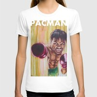"pac man T-shirts featuring ""Pac Man"" by Basic Lee"