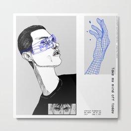 simulation.1 Metal Print