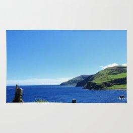 Antrim coast. Northern Ireland Rug