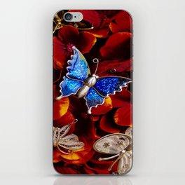 Butterfly Brooch Bouquet iPhone Skin