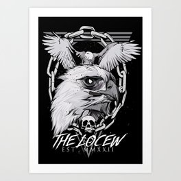 The eagle poster Art Print