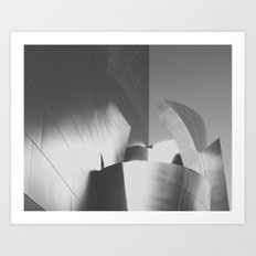Concert Hall | Los Angeles, CA Art Print