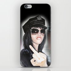 NYPD Rebel iPhone & iPod Skin