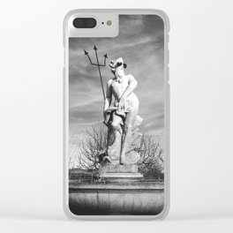 Chill Poseidon Clear iPhone Case