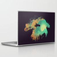 van Laptop & iPad Skins featuring Leap of Faith by Picomodi