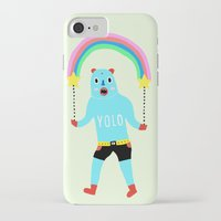 yolo iPhone & iPod Cases featuring Yolo by Saif Chowdhury