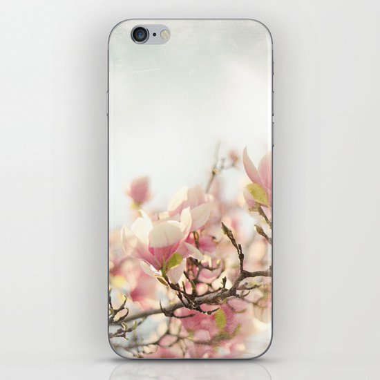 Blooming Magnolia iPhone Skin