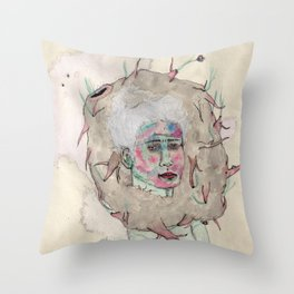 Nudo Throw Pillow