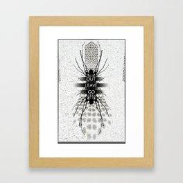 alienate Framed Art Print
