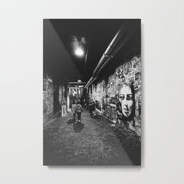 Seattle, Post Alley murals Metal Print