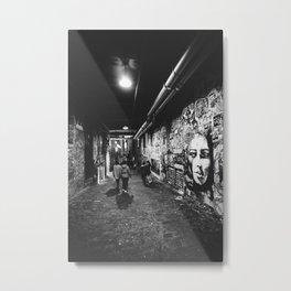 Seattle, Post Alley murals Metal Print