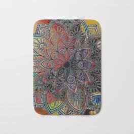 Mandala Stardust Bath Mat