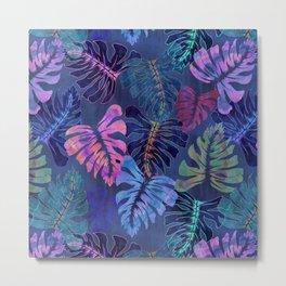Phoenix Tropical Blue Metal Print