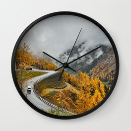 Nature Road Mount Wall Clock
