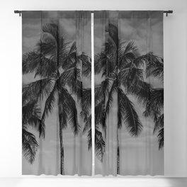 Hawaiian Palms Blackout Curtain
