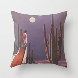 Under Desert Skies Throw Pillow