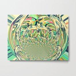 Blooming Onion Metal Print